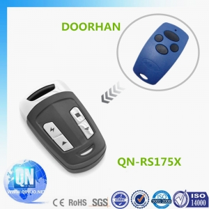 Qinuo auto gate remote control compatible with DOORHAN rolling code 433Mhz splash proof  QN-RS175X