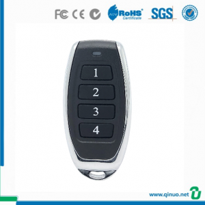 Qinuo wireless remote control garage door opener compatible with Nice Smilo 433mhz rolling code QN-RS039X