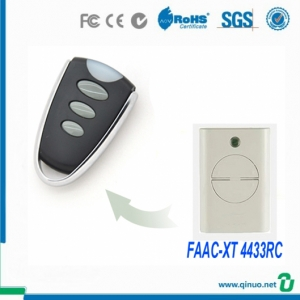 Universal Rolling Code Garage Door Remote Compatible Original FAAC XT 4433RC Remote