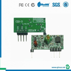 Customized Frequency RF 433Mhz Wireless Module Fast Sensitive