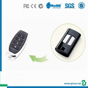 Qinuo Compatible with Beninca 4 Button RF Remote Transmitter Door